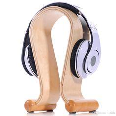 Mobile Halterung U Aktivität Natur Nussbaum Birke Holz Gaming Kopfhörer Kopfhörer Stativklammern Holzklammern Halter Display Rack Lautsprecher Halterung Von