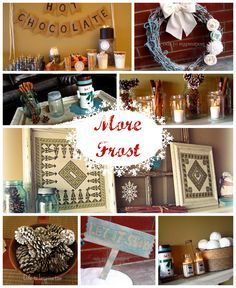 Winter Crafts and Decorating Ideas - #wintercrafts