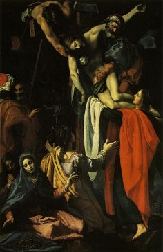 Ludovico Cigoli, Descent from the Cross.1608.[Pal.Pitti] | Flickr - Photo Sharing!