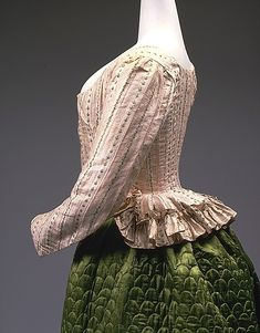 Pierrot Jacket, ca. 1785, French, Metropolitan Museum of Art  http://thedreamstress.com/tag/terminology/page/3/ Jacket styles
