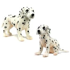 Endeavour Toys - Hansa Plush Dalmatian Puppies Plush Stuffed Animals