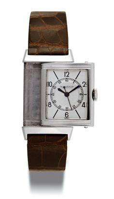JAEGER-LECOULTRE REVERSO, circa 1935. www.boule-auctions.com