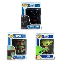 $13.99 (Buy here: https://alitems.com/g/1e8d114494ebda23ff8b16525dc3e8/?i=5&ulp=https%3A%2F%2Fwww.aliexpress.com%2Fitem%2FFunko-Pop-Star-Wars-Darth-Vader-Yoda-Vinyl-Bobble-head-Figure-PVC-Model-Action-Figure-Vinyl%2F32410857210.html ) Funko Pop Star Wars Darth Vader Yoda Vinyl Bobblehead Boba Fett BB-8 Figure Model Action Figure Vinyl Bobble-head Black Toy for just $13.99