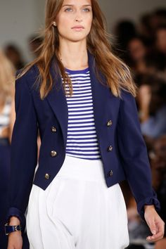 Ralph Lauren Spring 2016 Ready-to-Wear collection, runway looks, beauty, models, and reviews. Safari, Spring Fashion, Fashion Show, Ralph Lauren Style, Spring Summer 2016, Minimalist Fashion, Beautiful Outfits, Beautiful Clothes, Work Wear