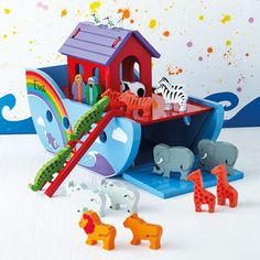Noah's Ark - christening gifts