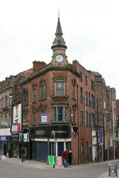 stoke on trent england | Corner of Piccadilly and Brunswick Street, Hanley, Stoke-on-Trent