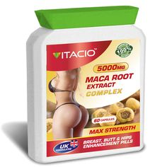 Maca Root Complex Natural Bum Booty And Hips Enhancement 60 Pills sold by Vitacio UK. Shop more products from Vitacio UK on Storenvy, the home of independent small businesses all over the world. Sofia Vergara, Maca Benefits, Female Hormones, Female Hormone Pills, Wild Yam, Increase Stamina, Enhancement Pills, Herbal Extracts