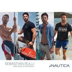 "Rullinaticas on Instagram: ""@sebastianrulli for ℕ𝔸𝕌𝕋𝕀ℂ𝔸 ⛵️#nauticamx #nauticalatinoamerica #sebastianrulli embajador Nautica 2020"" Sebastian Rulli, America, Instagram, Usa"