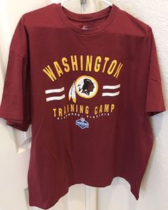 2014 Washington Redskins Training Camp NFL XXL T Shirt Red #WashingtonRedskins