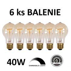 Zvýhodnené balenia žiaroviek. Balenia viacerých kusov žiaroviek Packing Light, Light Bulb, Chandelier, Ceiling Lights, Led, Retro, Lighting, Vintage, Home Decor