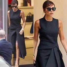 Loving Victoria Beckham's side-swept bangs.