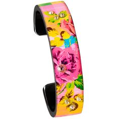 Nano Cuff- Bright Plaid Bling - Debbie Brooks Product. New at Bohland Jewelers!
