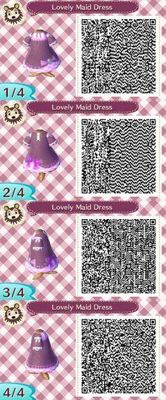 A Cute Maid Dress...I think lol xD #acnl #animalcrossing #newleaf #nintendo #3DS