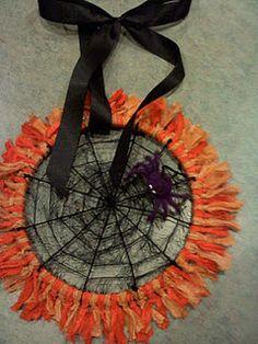 spider web door hanger