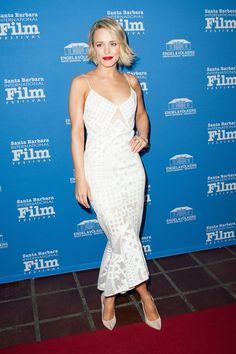 Rachel McAdams in a White Jonathan Simkhai Dress   POPSUGAR Fashion