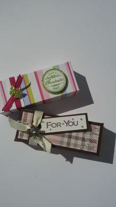 Minibox für zum Beispiel ein Snickersriegel