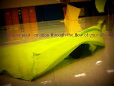 Express your emotion through the flow of your silk <3 #winterguard