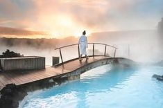 Welcome to Iceland, where double-tiered waterfalls, aurora borealis, amazing nightlife, and tectonic rifts are more common than train delays. Backyard Water Games, Spray Paint Cans, Spray Painting, Wellness Shots, Blue Lagoon, Home Improvement Projects, Natural Wonders, Hot Springs, Iceland