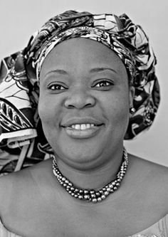 Leymah Gbowee, Liberian peace activist and Nobel Prize winner for for their non-violent struggle for the safety of women and for women's rights to full participation in peace-building work