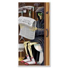 Tür-Dekofolie Grim Reaper