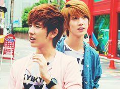 Boyfriend Minwoo and Youngmin