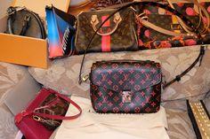 Louis Vuitton Speedy 25, Metis infrarouge, Neverfull mm Ramages, Alma BB, Pochette epi fuchsia, mini pochette, Toilletry pouch 25 Race