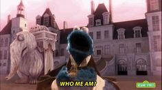 """But then he has a personal revelation and comes to his senses. This Sesame Street """"Les Miserables"""" Parody Wins The Internet Theatre Nerds, Musical Theatre, Theater, Les Miserables Funny, Period Dramas, Movies And Tv Shows, Haha, Musicals, Hilarious"""