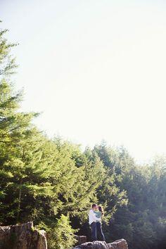 Eau Claire Dells Engagement | Derrick & Alex » Beyond Imagination Photography