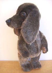 Eu Amo Artesanato: Cachorrinhos de feltro