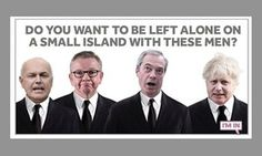 Rejected remain campaign posters revealed by ad agencies Political Advertising, Political Posters, Political Satire, Political Cartoons, British Values, Campaign Posters, Uk Politics, Dumb People, Brave New World
