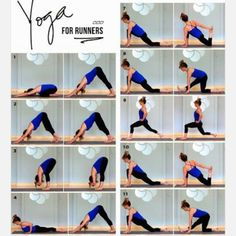 Here's a good yoga sequence for runners! @christiniamele #yoga #yogasequence #postrunyogasequance #stretching