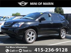 2008 *Lexus*  *RX* *400h*  82k miles Call for Price 82484 miles 415-236-9128 Transmission: Automatic  #Lexus #RX #used #cars #MINIofMarin #CorteMadera #CA #tapcars