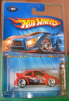 Hot Wheels New Beetle Cup 2005 Mail-In Mystery Car VW Bug - Diecast-Modern Manufacture