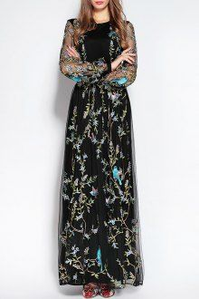 Join Dezzal, Get $100-Worth-Coupon GiftEmbroidered Tulle Layered Maxi DressFor Boutique Fashion Lovers Only: Designer Collection·New Arrival Daily· Chic for Every Occasion