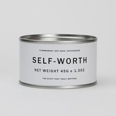 A can of self worth