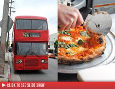 Wood fired pizza on a bus!
