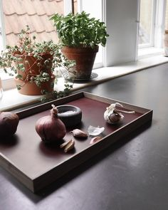 FRAME tray - The perfect tray for all your exhibitions from MUNK collective Frame Tray, Warm Grey, Hardwood, Plates, Pure Products, Kitchen, Licence Plates, Natural Wood, Dishes
