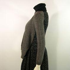 Vintage Yohji Yamamoto Knitted Illusional Dress 1990