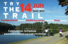 "June 14, 2014: ""Try the Trail"" Kick-Off at Arabia Mountain National Heritage Area."