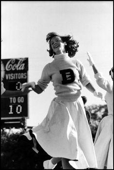Elliott Erwitt, Cheerleader, Gulfport, Mississipi, 1954
