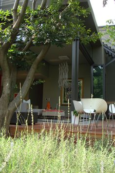 Garden deck Outdoor Rooms, Outdoor Decor, Room Inspiration, Deck, Patio, Garden, House, Home Decor, Garten