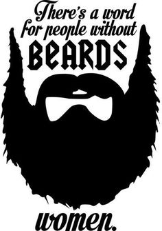 People without beards.