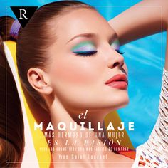 ¡Saca a relucir tu #personalidad! Es lo que hace más bella a una #mujer. #quotes #makeup