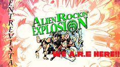 Entrevista a Alien Rockin' Explosion   Red Trysha nos cuenta el origen