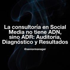 El ADN en la consultoría en Social Media se llama ADR
