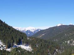 Dale between Rinnen and Stanzach, TIrol