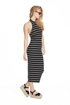 Chelsea Stripe Pou Dress. Clayton 2016 Resort Collection.