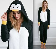 This cuddly, plush penguin onesie—$29.90   19 Insanely Cozy Accessories That Will Make You Never Want To Leave Your Bed