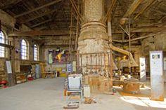 Innenansicht der Alten Metallgießerei nach der Rekontruktion 2008, Foto: Herwig Wetzel