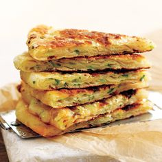 Chinese Savoury Green Onion Pancakes